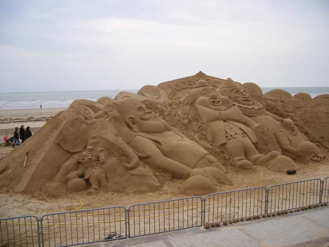 belle plage sculptée