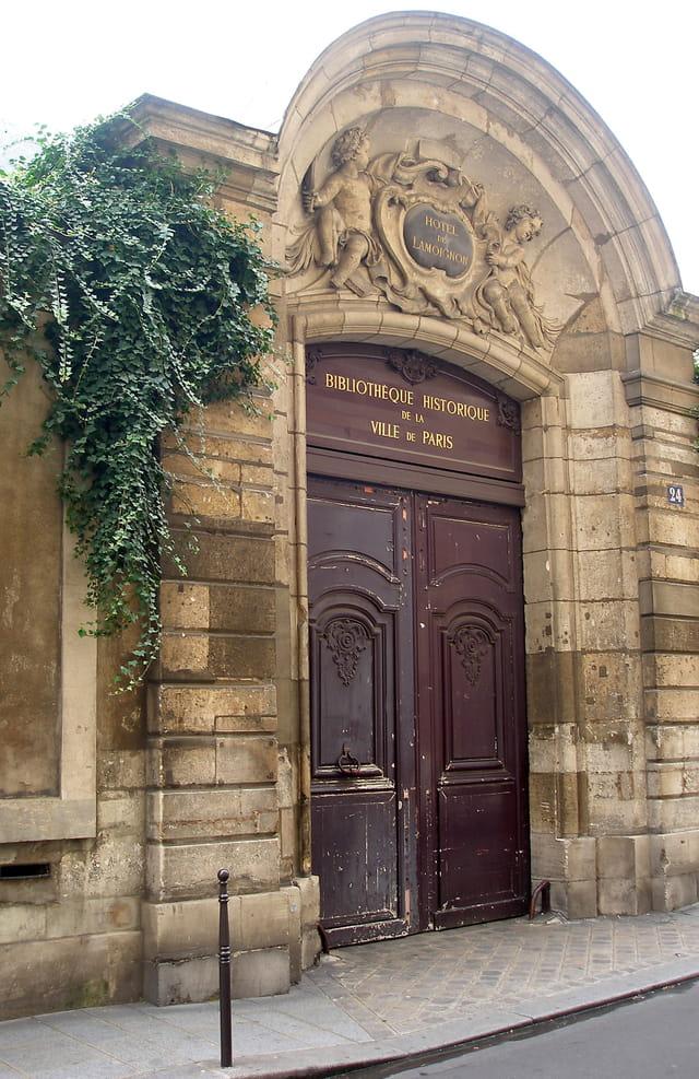 Bibliothéque historique de la Ville de Paris