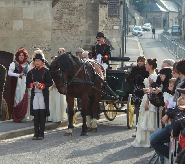 Bicentenaire Napoléon 1er et Marie-Louise : carrosse impérial