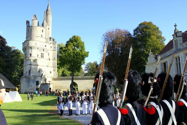 Bicentenaire Napoléon 1er et Marie-Louise : Septmonts mode Premier Empire