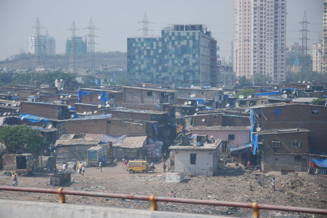 bidonvilles de Bombay
