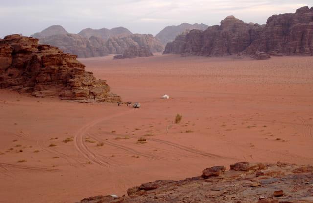 Bivouac dans le Wadi Rum