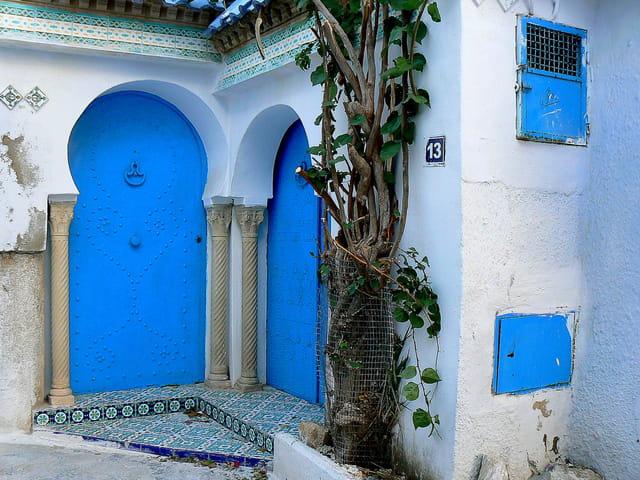 Bleu contre bleu
