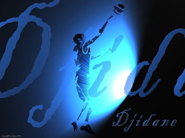 Blue djidane