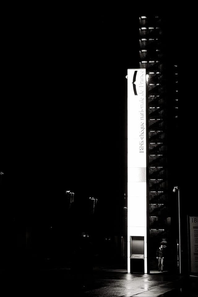 Bnf ext rieur nuit par bernard fauvel sur l 39 internaute for Exterieur nuit