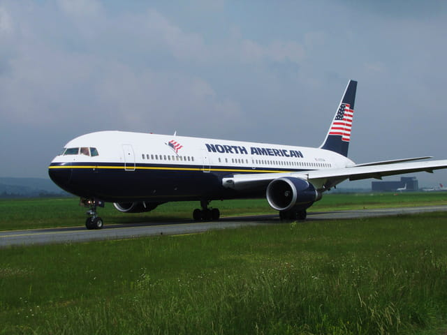 Boeing 767 North American.