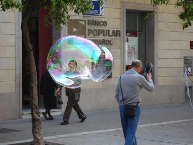 Bonjour madame la bulle