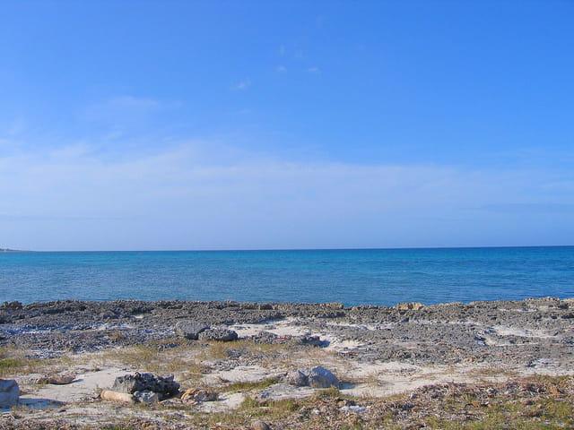 Bord de mer à Cayo Coco