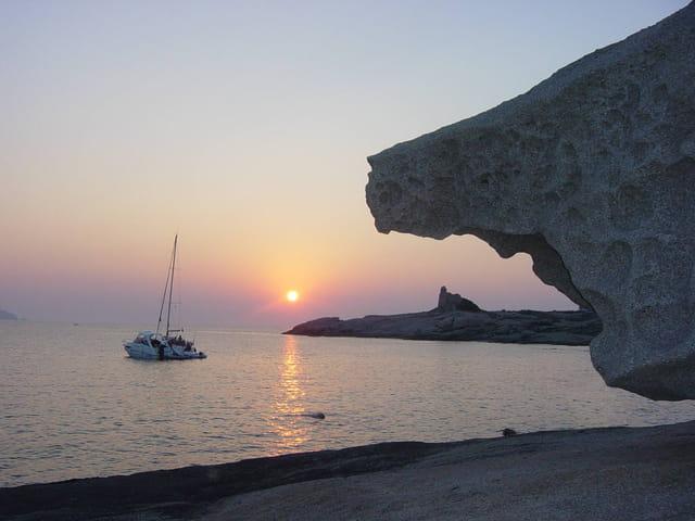 Bord de mer à Lumio