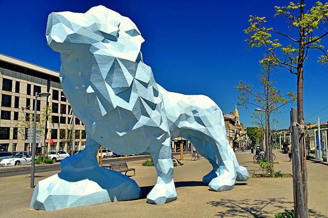 Bordeaux - Le Lion de Veilhan