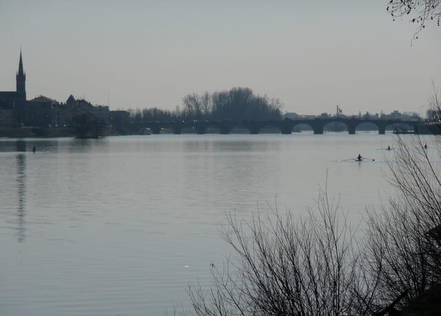Bords de Saône à Mâcon