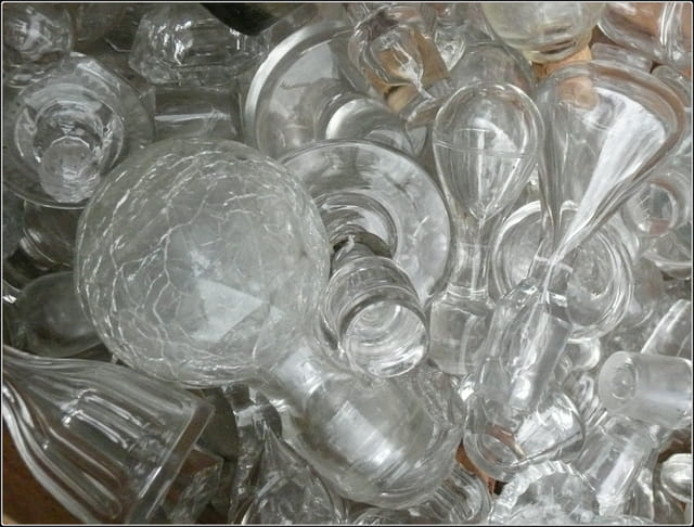 Bouchons de carafe en cristal et en verre