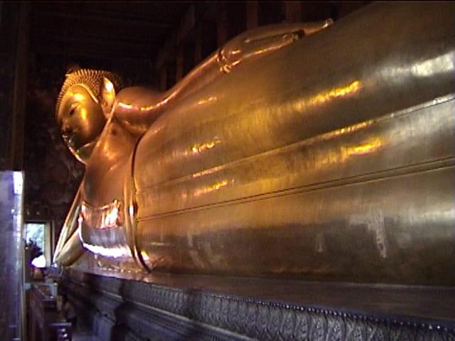 Bouddha (position couché)