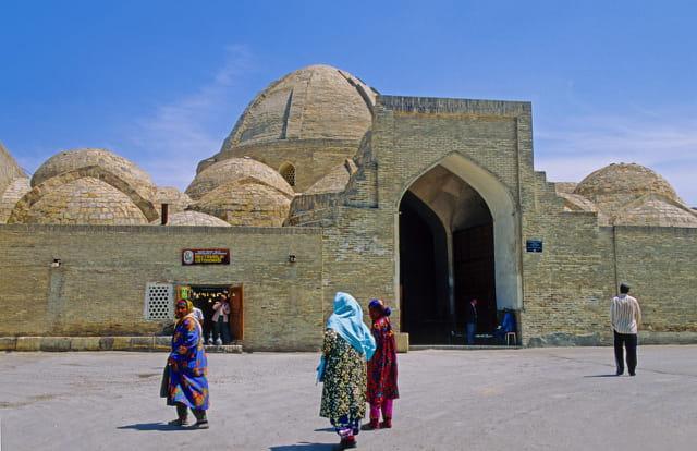 Boukhara, ancienne cité caravanière