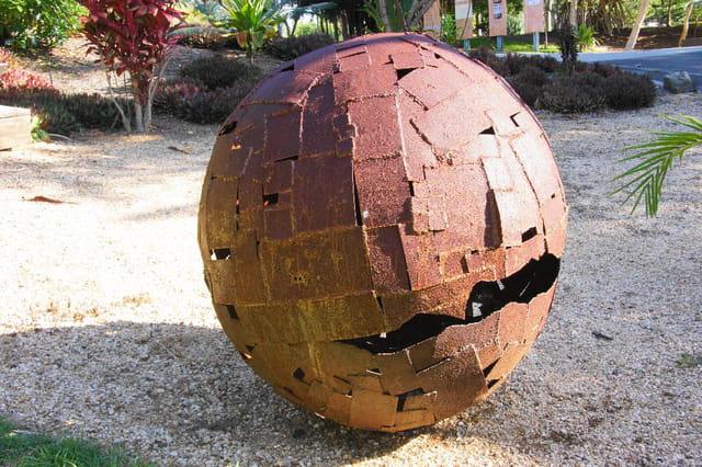 boule de fer