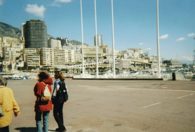 Boulevard Albert 1er et Monte Carlo