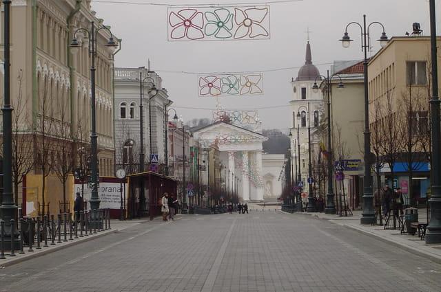 Boulevard Gedimino - Vilnius