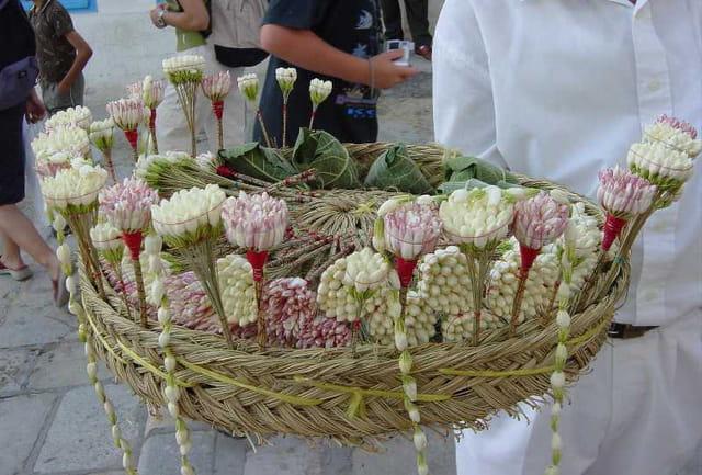 Bouquets de jasmin