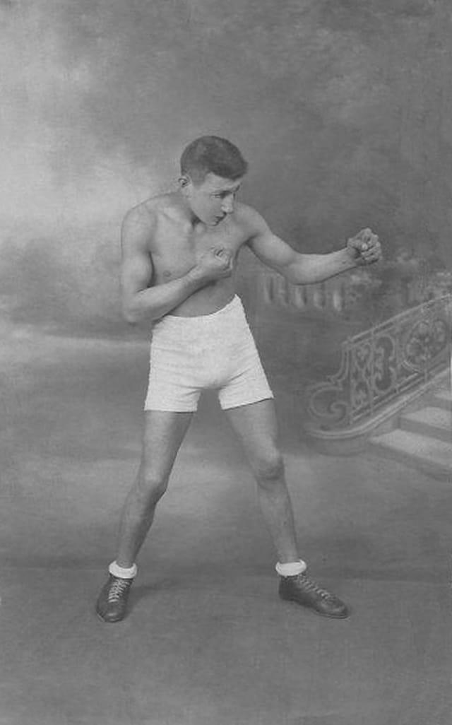 boxeur professionnel robert POTVAIN 1937 1938
