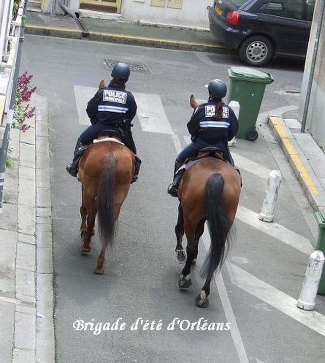 Brigade montée d'Orléans