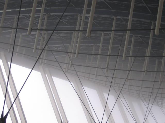 Brouillard sous toit