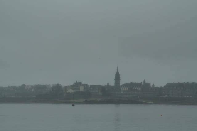 Brouillard sur Roscoff