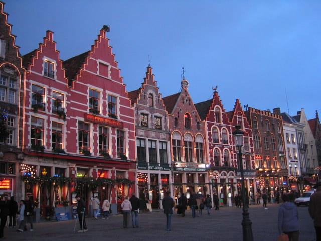 Bruges à Noël