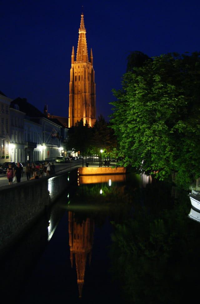 brugge ,la nuit