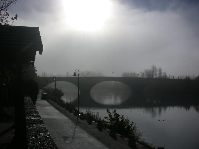 Brume matinale sur le Rhone