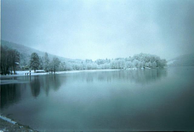 Brume sur le Grand lac