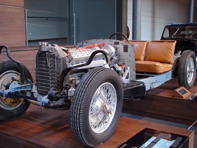 Bugatti à nu
