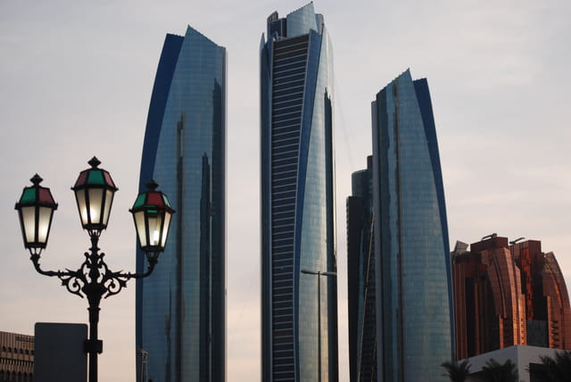 buildings d'Abu Dhabi