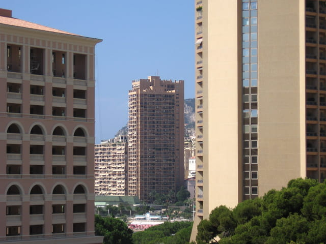 Buildings du Larvotto