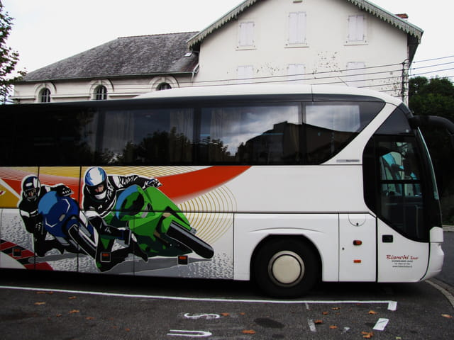 Bus européen.