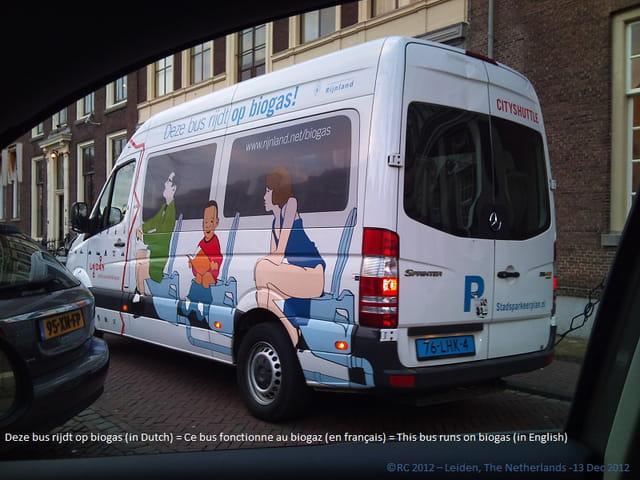 Bus fonctionnant au biogaz