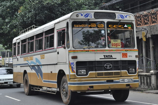 Bus Sri Lankais