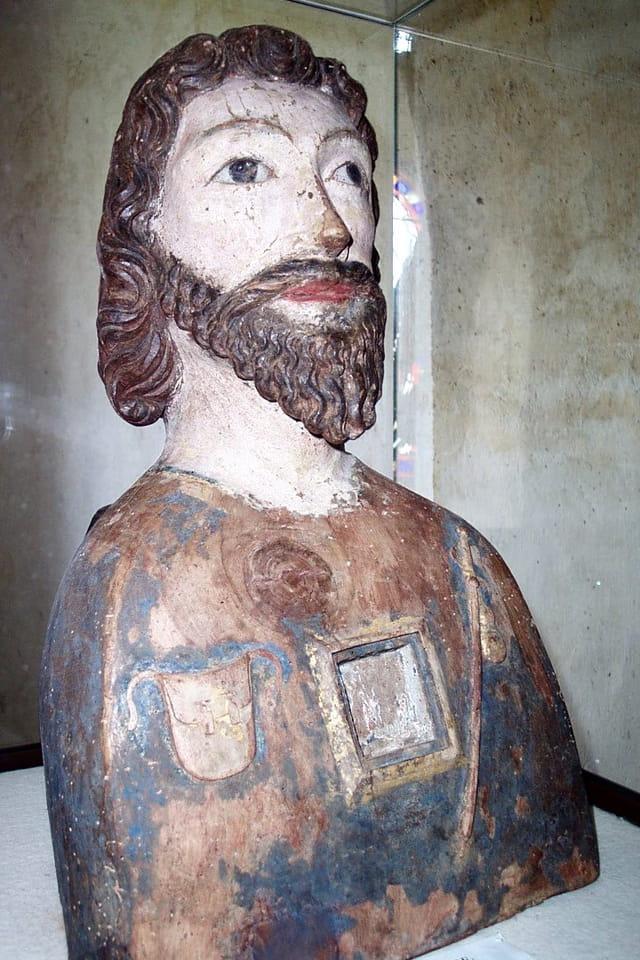 Buste de Saint-Jacques le majeur