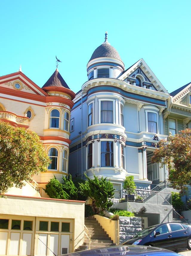 c est une maison bleue san francisco par francie bouchet sur l internaute