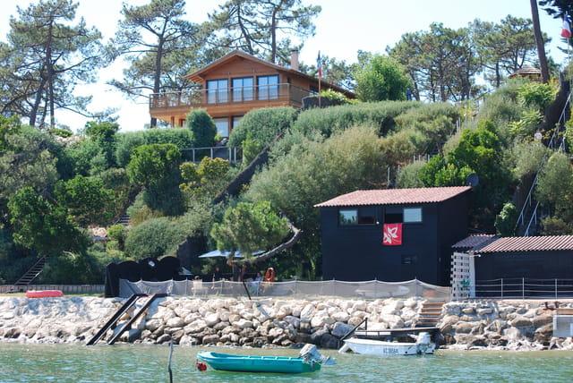 cabanes et belles maisons du Bassin d'arcachon