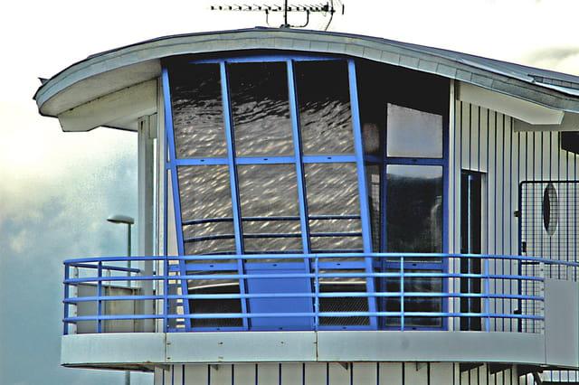 cabine de surveillance du port