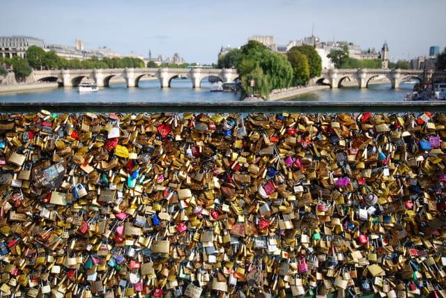 Cadenas Pont des Arts Septembre 2013