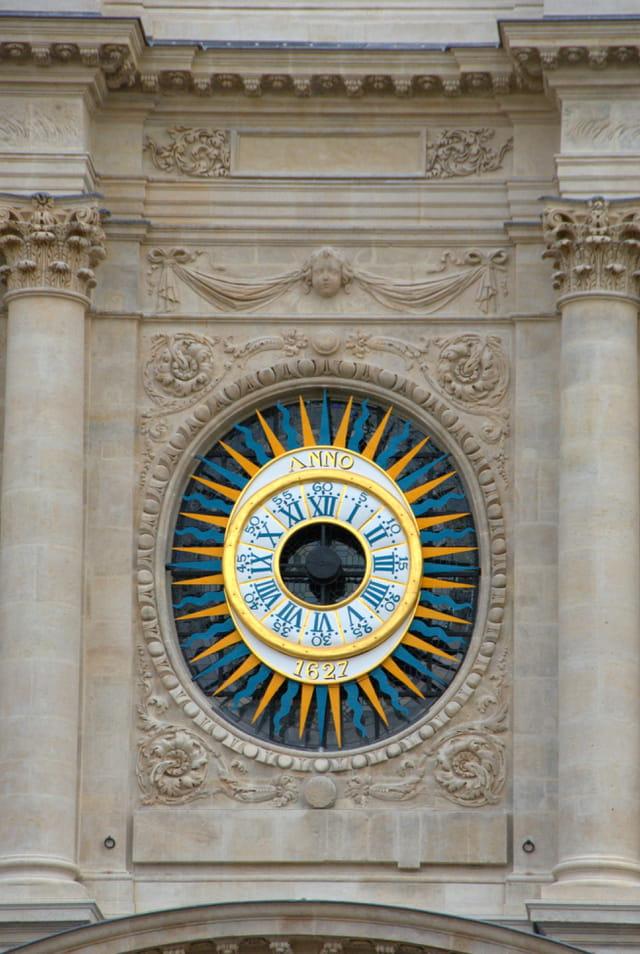 Cadran de l'église Saint Paul Saint Louis