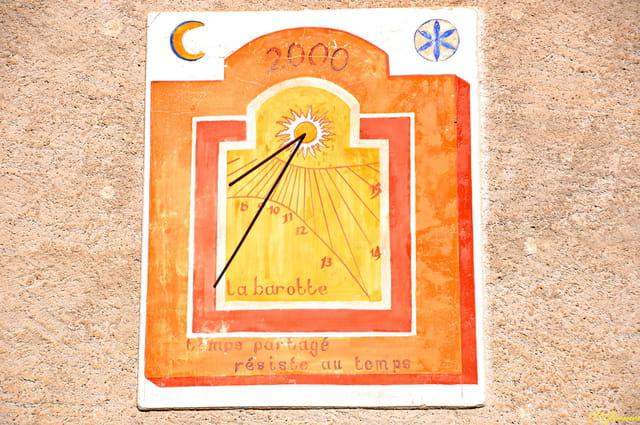 Cadran solaire - Le Lauzet