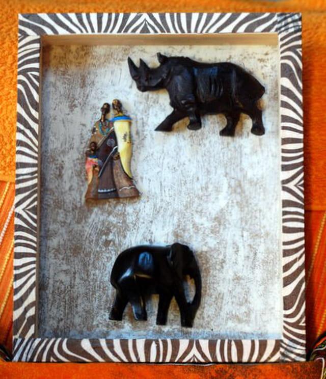 cadre africain par genevieve lapoux sur l 39 internaute. Black Bedroom Furniture Sets. Home Design Ideas