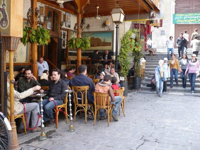 Café de la vieille ville