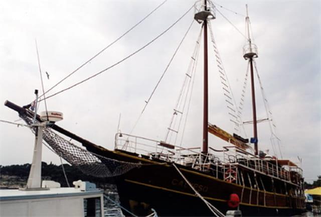 Caïque au port