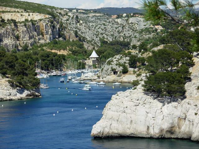Calanques port Miou