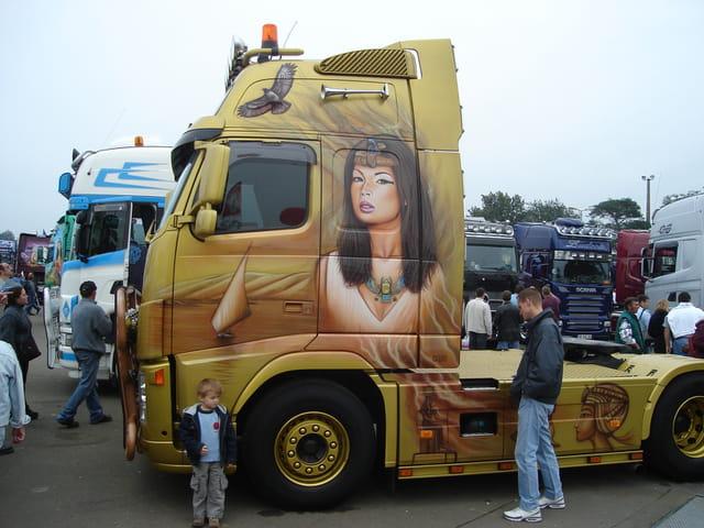 Camion decore 17