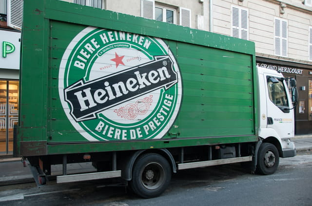 Camion Heineken