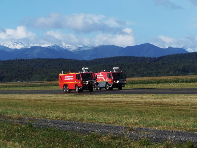 Camions - Pompiers aéroport.